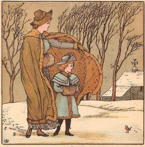 The North Wind Doth Blow illustration by Walter Crane