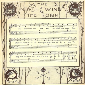 The North Wind doth blow, arranged and illustrated by Walter Crane