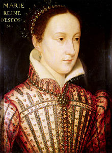 Mary Queen of Scots, head portrait after Francis Clouet