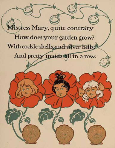 Mistress Mary, Quite Contrary by WW Denslow - Project Gutenberg etext 18546